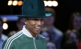 Unja a Happyt? Íme, Pharrell Williams új ziccere